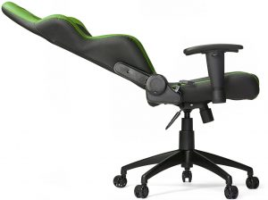 Vertagear SL2000 pc chair green reclined