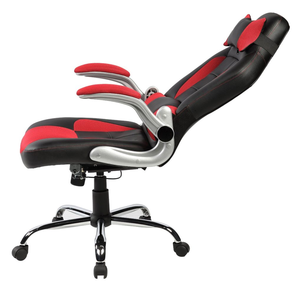 Good Office Chairs For Gaming merax ergonomic racing style gaming chair pu leather office chair